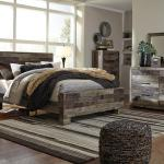 Ashley 4 Pc Bedroom - Includes: Queen Bed, Dresser, Mirror, Chest Also Available in King - Gray <$999- Queen> <$1099- King>