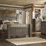 Ashley 4 Pc Bedroom - Includes: Queen Bed, Dresser, Mirror, Chest - Also Available in King - Grey <$1299- Queen>  <$1399- King> Nightstand Available - $169-
