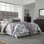Ashley Bed Frame - Gray <$249- Queen>  <$299- King>