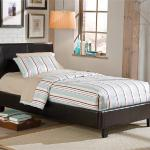 Standard Platform Bed - No Foundation Required - Black <$239- Twin>  <$259- Full>