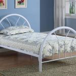 Coaster Twin Platform Bed - No Foundation Required - White $159-