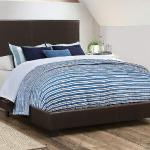 Coaster Padded Bed Frame - Black <$179- Twin>  <$189- Full>  <$199- Queen>  <$229- King>
