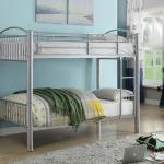 Acme Twin/Twin Bunkbed - Metal/Silver Can Be Separated Into 2 Beds $299-