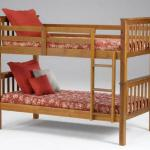 Bernards Twin/Twin Bunkbed - Wood/Light Brown Can Be Separated Into 2 Beds $329-