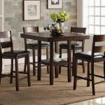 Bernards 5 Pc Pub Set - Brown Wood $449-