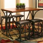 Cramco 5 Pc Pub Set - Brown Wood $349-
