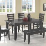 Coaster 6 Pc Dinette - Brown Wood $799-