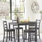 Ashley 5 Pc Pub Set - Gray $449-