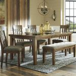 Ashley 6 Pc Dinette - Light Wood $999-