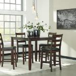 Ashley 5 Pc Pub Set - Dark Wood $449-