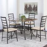 Cramco 5 Pc Dining Set - Brown Marble $399-