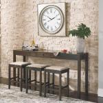 Ashley 4 Pc Pub Set - Light Brown $399-