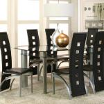 Cramco 7 Pc Dining Set - Black $649-