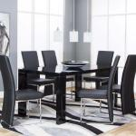 Cramco 7 Pc Dining Set - Black $799-