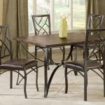 Bernards 5 Pc Dinette - Brown Wood $399-