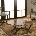 Cramco 3 Pc Table Set - Brown Marble $229-
