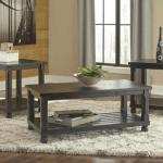 Ashley 3 Pc Table Set - Black $349-