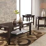 Ashley 3 Pc Table Set - Brown $379-
