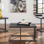 Ashley 3 Pc Table Set - Brown $199-