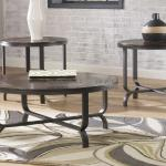Ashley 3 Pc Table Set - Brown $279-