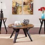 Ashley 3 Pc Table Set - Brown/Black $199-