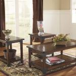 Ashley 3 Pc Table Set - Brown $349-