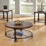 Ashley 3 Pc Table Set - Brown/Industrial $349-