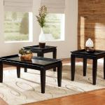 Ashley 3 Pc Table Set - Black $279-