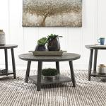 Ashley 3pc Table set-grey  $279-