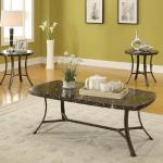 Acme 3 Pc Table Set - Brown Marble $249-